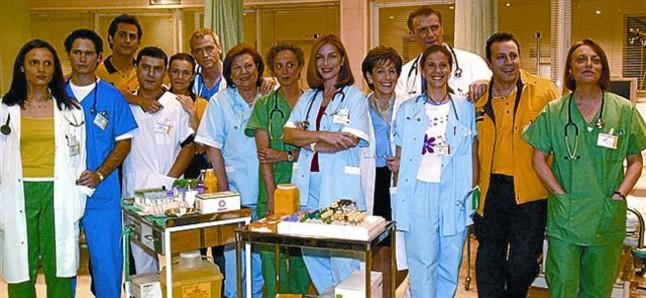 Reparto de la primera temporada de Hospital Central