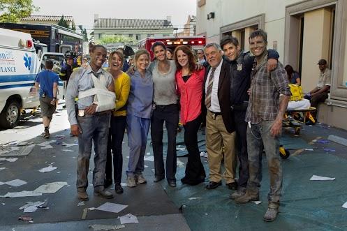 Behind the scenes finale tercer temporada de Rizzoli & Isles