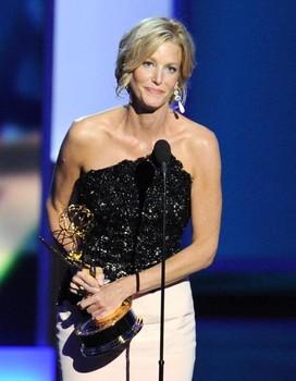Ana Gunn y su Emmy 2013